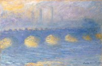 Waterloo Bridge, temps couvert