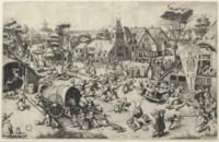 The Kermis of Saint George (Bastelaer 207; Lari 164, Hollstein 42)