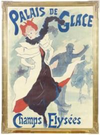 A LITHOGRAPH IN COLORS, 'PALAIS DE GLACE'