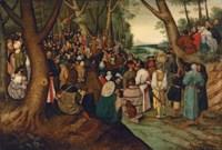 Saint John the Baptist Preaching to the Multitude