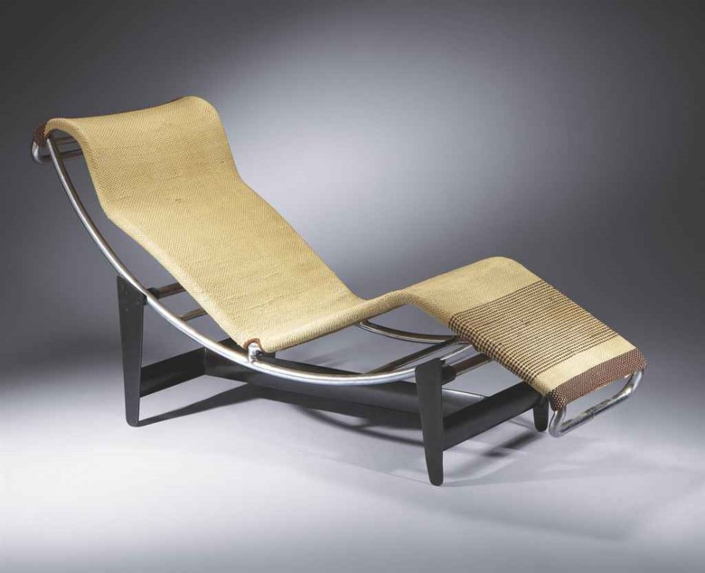Pierre Jeanneret (1896-1967) Charlotte Perriand (1903-1999) and Le Corbusier (1887-1965), Chaise longue B306, 1930. Sold for €121,000, 29-31 March 2011 at Christie's in Paris. Artwork © ADAGP, Paris and DACS, London 2020 © F.L.C.  ADAGP, Paris and DACS, London 2020