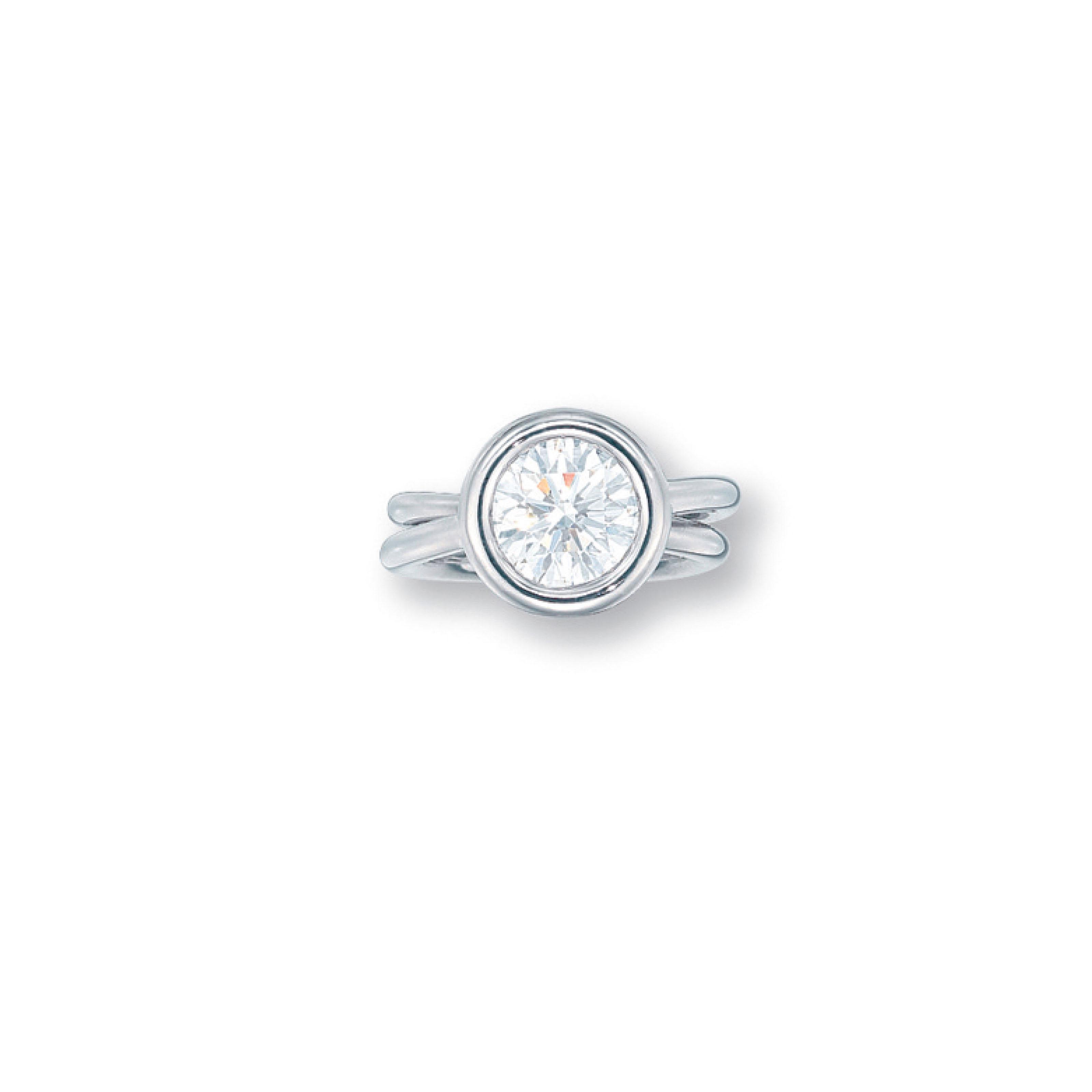 A DIAMOND RING, BY HERMÈS
