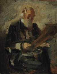 Study for a Portrait of Charles Fussell