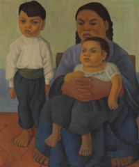 Madre con hijos (also known as Mother with Two Children)