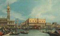 The Molo, Venice, from the Bacino di San Marco