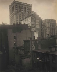 """From the Back Window -- """"291"""" -- N.Y., Summer 1914"""