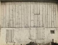 Side of White Barn, Bucks County, 1917