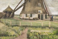 The 'Laakmolen' near The Hague (The Windmill)