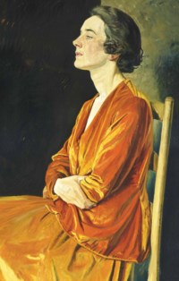 Portrait of Gladys Calthrop