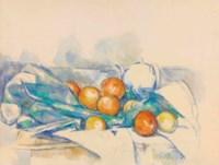 Théière et oranges (La Nappe)