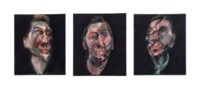 Three Studies for a Portrait of George Dyer