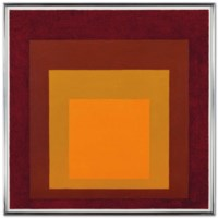 """Study for Homage to the Square: """"Deep Tune"""""""
