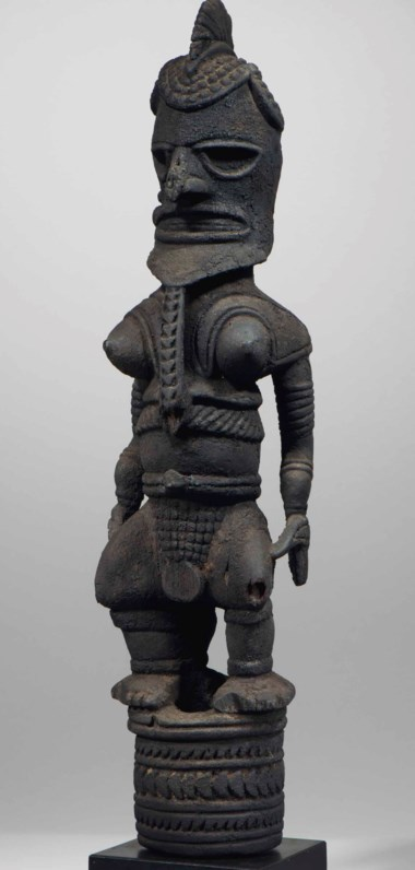 Uli ancestor figure, New Ireland. Height 28¾ in (73 cm). Sold for €2,970,000 on 21 November 2017 at Christie's in Paris