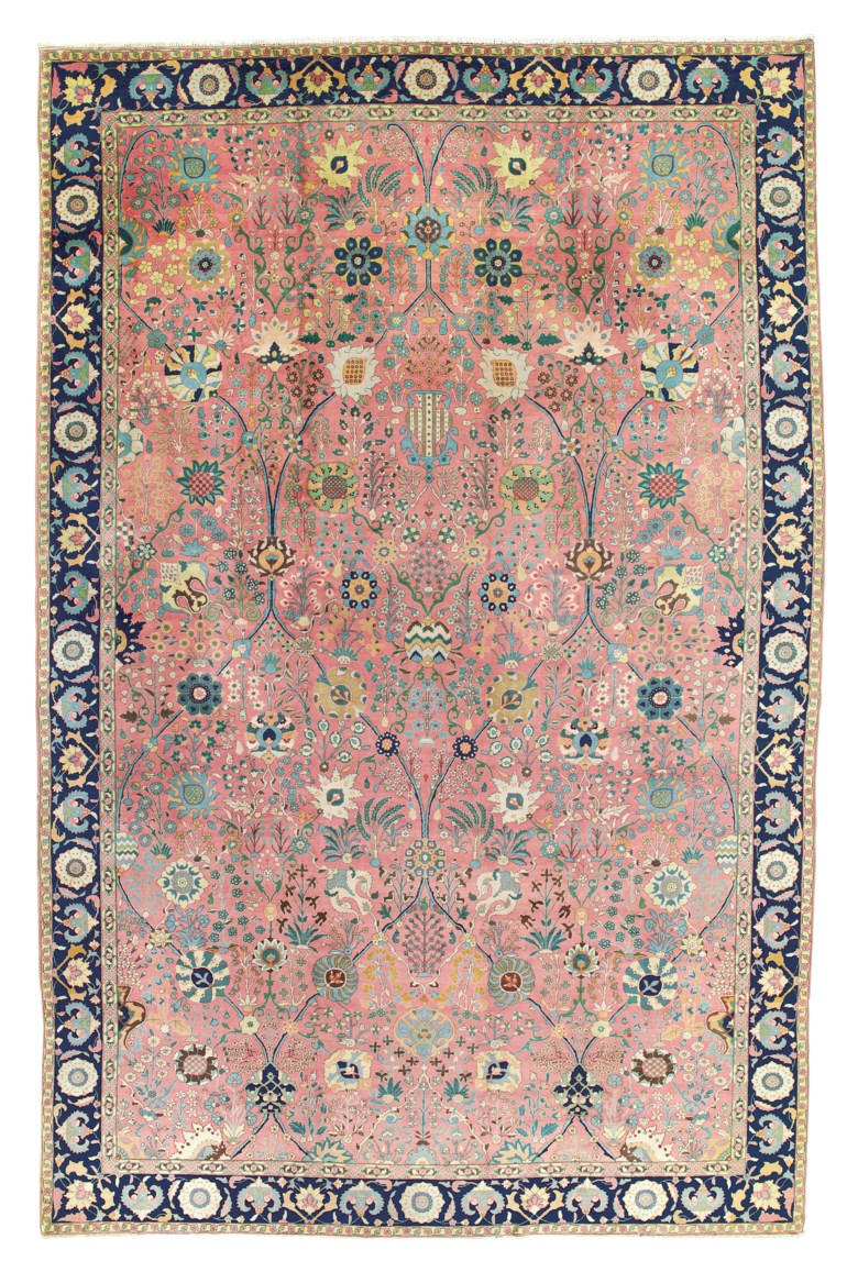 A 'Petag' Tabriz carpet, northwest Persia, circa 1930. 18 ft 3 in x 11 ft 10 in (557 cm x 362 cm). Sold for £32,500 on 25 October 2018 at Christie's in London
