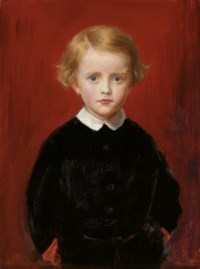 John Wycliffe Taylor, at the age of five