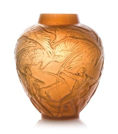 An Archers vase, no. 893, designed 1921. 11⅜  in (28.8  cm) high.
