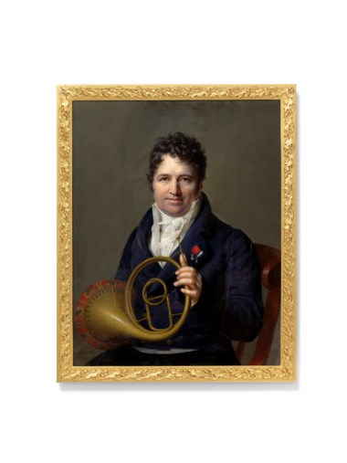 Jean-Baptiste Jacques Augustin (1759-1832). Rectangular, 224 x 176  mm, gilt-metal frame with oak leaf motif. Estimate £8,000-12,000. Offered in Treasured Portraits from the Collection of Ernst Holzscheiter on 4 July 2018 at Christie's in London