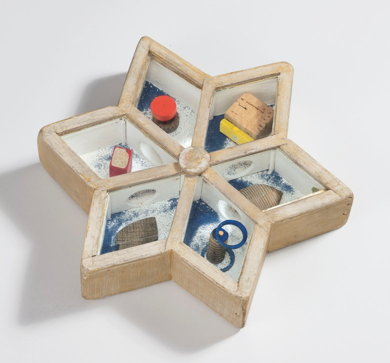 Joseph Cornell (1903-1972), Untitled (Star Game), executed circa 1948. 2⅝ x 12¾ x 11 in (6.7 x 32.4 x 28  cm). Estimate $600,000-800,000. This lot is offered in Post-War and Contemporary Art Evening Sale on 15 November 2018 at Christie's in New York© The Joseph and Robert Cornell Memorial FoundationVAGA, NYDACS, London 2018