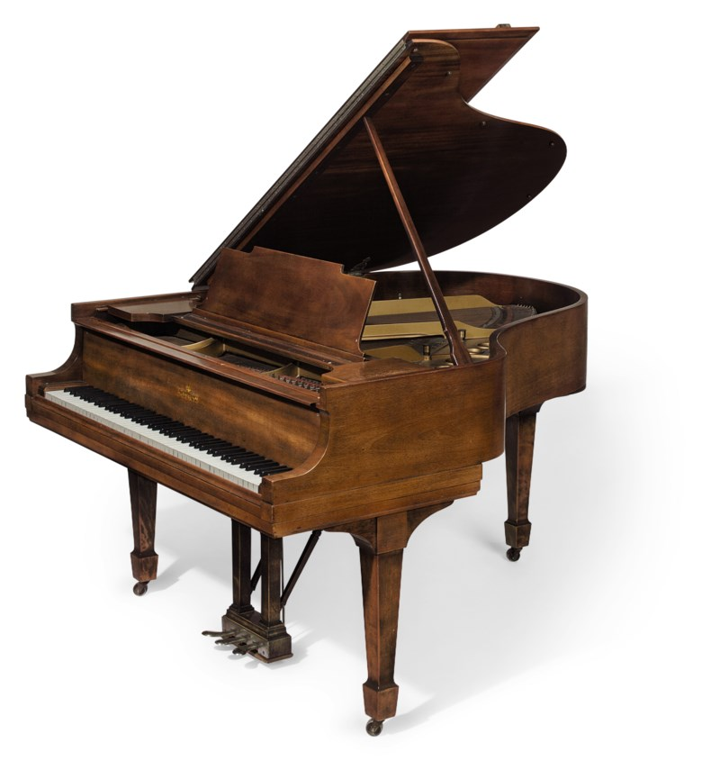 A Steinway & Sons (est. 1853) 'Model M' grand piano, New York, 1924. Estimate $40,000-60,000. This lot is offered in The Exceptional Sale on 20 April 2018  at Christie's in New York