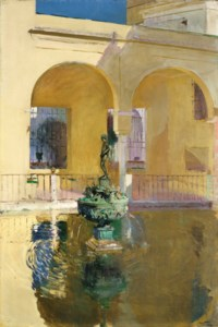 Estanque de Charles V, Alcázar, Seville