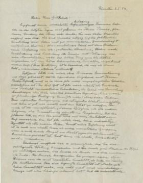"""EINSTEIN, Albert (1879-1955). Autograph letter signed (""""A. E"""