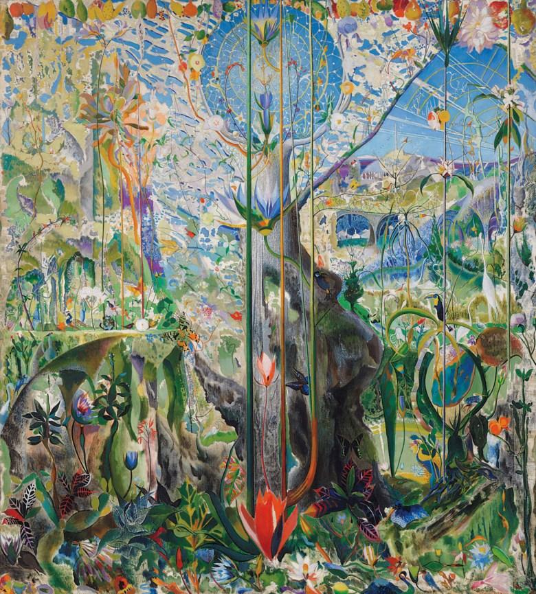 Joseph Stella (1877-1946), Tree of My Life, painted in 1919. 84 x 76  in (213.4 x 193  cm). Sold for $5,937,500 on 13 November 2018 at Christie's in New York