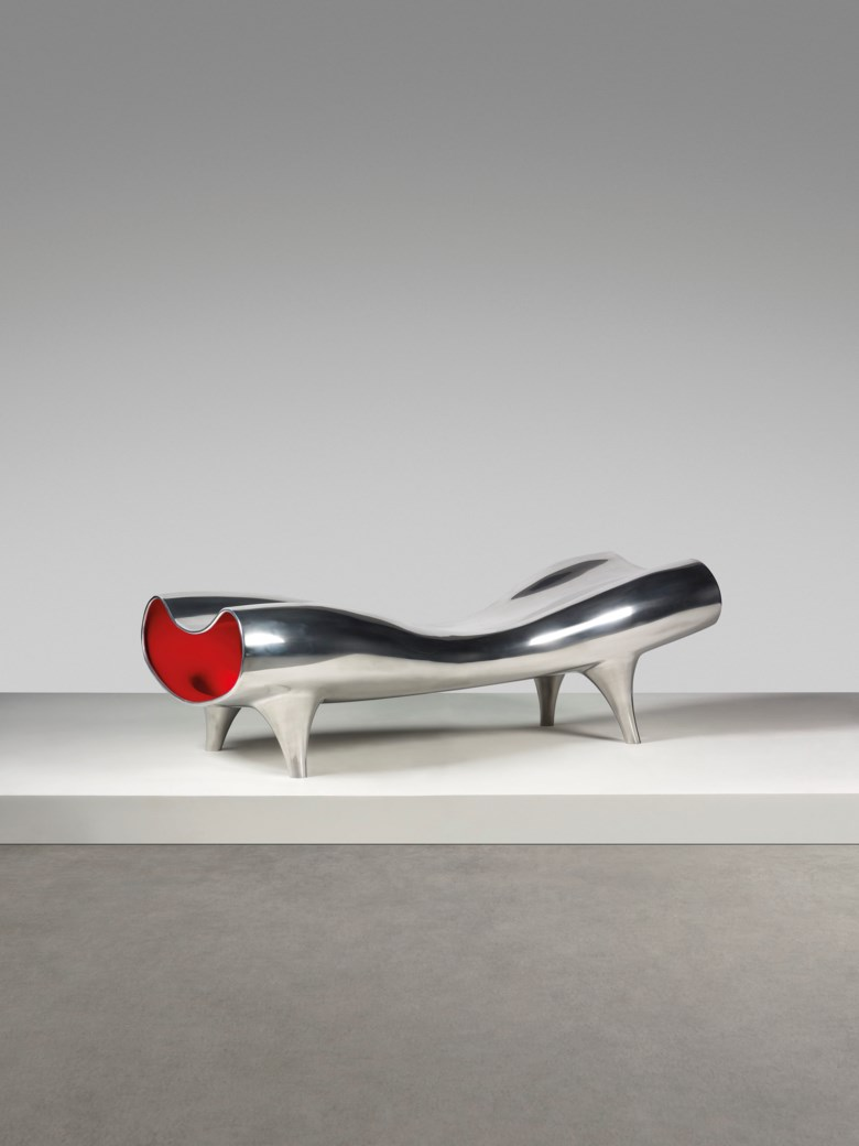 Marc Newson (b. 1963), An important 'Orgone Stretch Lounge. Sold for £515,250 on 6 March 2019 at Christie's in London