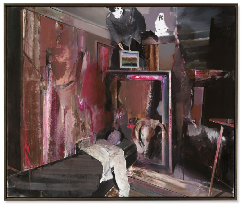 Adrian Ghenie (b. 1977), The Collector 4, 2009. Sold for £2,651,250 on 6 March 2019 at Christie's in London