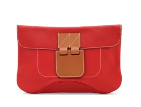 A ROUGE TOMATE EVERCALF, VACHE HUNTER & BARÉNIA LEATHER VIRE