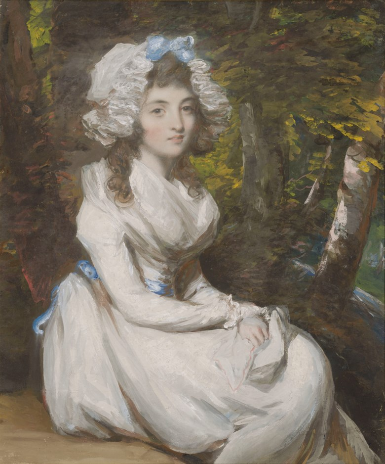 Daniel Gardner, A.R.A. (1750-1805), Portrait of a young lady, possibly Elizabeth Anne Hall. Pencil, watercolour, bodycolour and pastel. 25 x 21  in (63.5 x 53.4  cm). Estimate £10,000-15,000. Offered in Old Master and British Drawings and Watercolours Including Works from the Collection of Jean Bonna on 2 July 2019 at Christie's in London