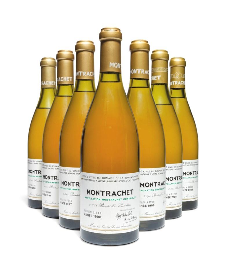 Domaine de la Romanée-Conti, Montrachet 2000, 2 bottles per lot.Estimate £7,500-9,000. Offered in Fine and Rare Wines Including Rare Burgundy to Benefit Maison Jacques Copeau on 20 March 2019 at Christie's in London