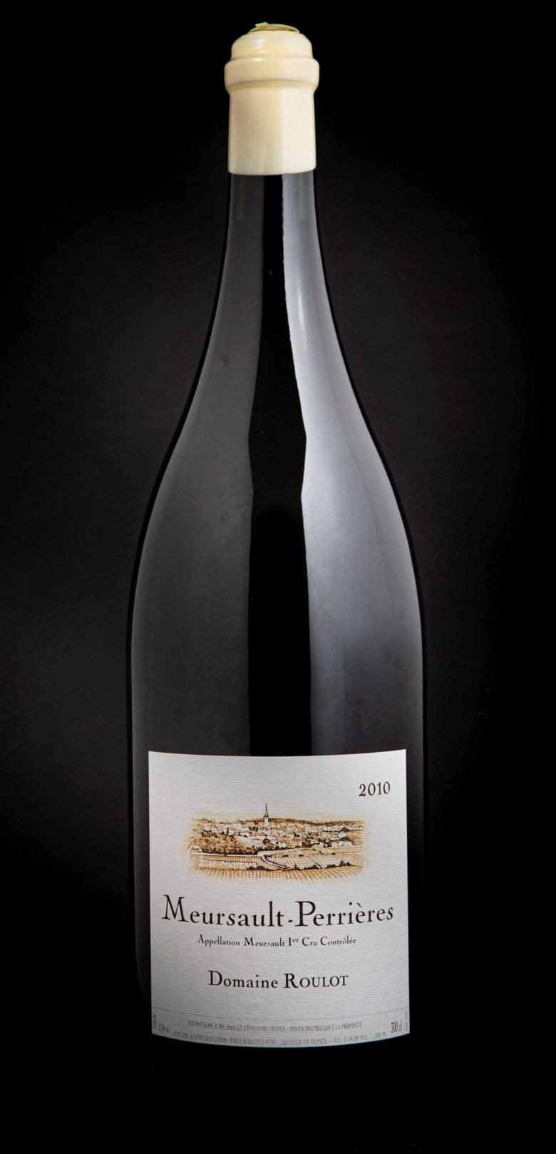 Domaine Roulot, Meursault Les Perrières 2010, 1 jeroboam per lot. Estimate £3,000-4,000. Offered in Fine and Rare Wines Including Rare Burgundy to Benefit Maison Jacques Copeau on 20 March 2019 at Christie's in London