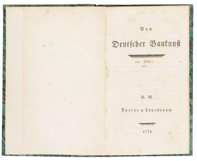 [GOETHE, Johann Wolfgang von (