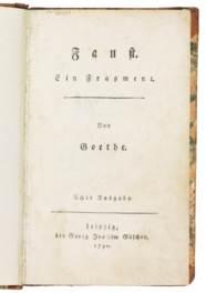 GOETHE, Johann Wolfgang von (1