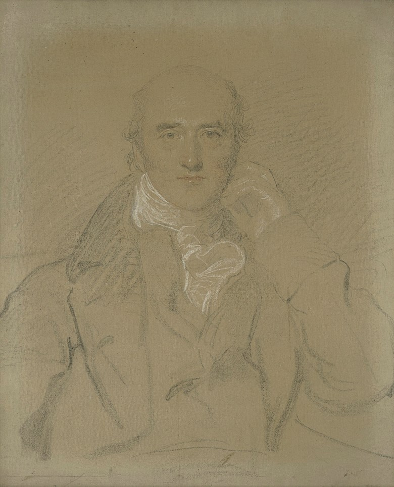 Thomas Lawrence, P.R.A. (1769-1830), Portrait of George Canning, M.P. (1770-1827), half-length, seated. 30¼ x 25¼ in (76.8 x 64.2 cm). Estimate £25,000-40,000. Offered in Property from Descendants of Their Majesties King George V and Queen Mary on 13 December 2019 at Christie's in London