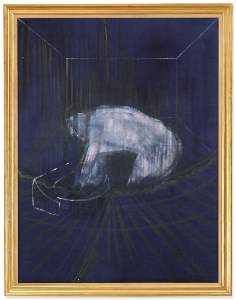 Francis Bacon (1909-1992), 'Man at a Washbasin',painted circa 1954. 59⅞ x 45⅝ in (152 x 116 cm). Sold for £5,109,450on 25 June 2019 at Christie's in London