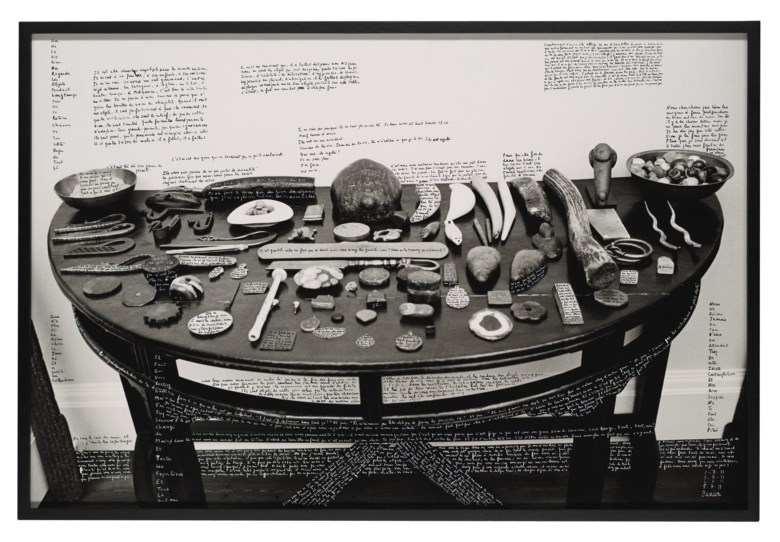 François Marie-Banier (b. 1947), Chez Monsieur Hoare, 2011. Gelatin silver print photograph. Imagesheetflush-mount 31 x 46¾  in (78.7 x 118.7 cm). Estimate £20,000-30,000. Offered in The Oliver Hoare Collection on 25 October 2019 at Christie's in London