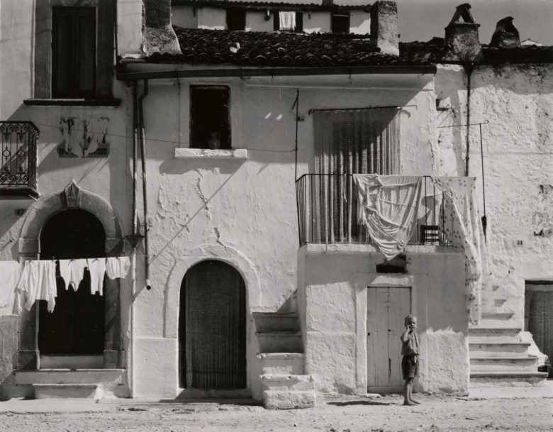 Paul Strand (1890-1976), Town in the Gargano II, Italy, 1952. Mount 13 x 10¼  in (33 x 25.9  cm). Estimate $10,000-15,000. This lot is offered in Photographs on 2 April 2019 at Christie's in New York