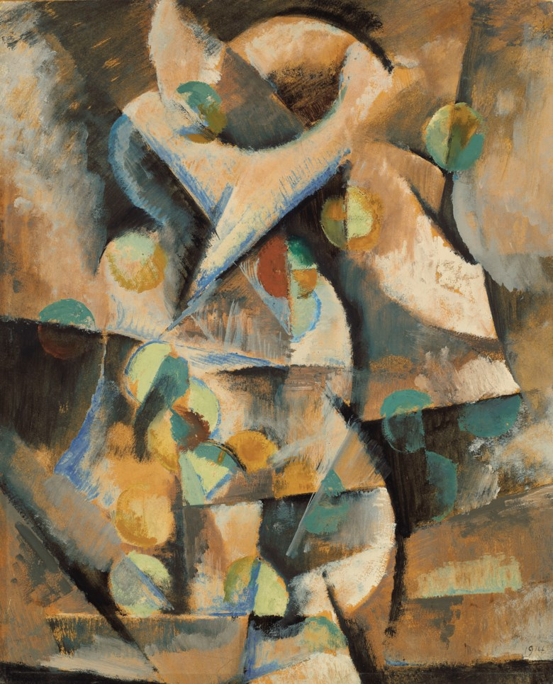 Max Weber (1881-1961), Color in Motion, 1914. 21 x 17  in (53.3 x 43.2  cm). Estimate $150,000-250,000. Offered in American Art on 22 May 2019 at Christie's in New York