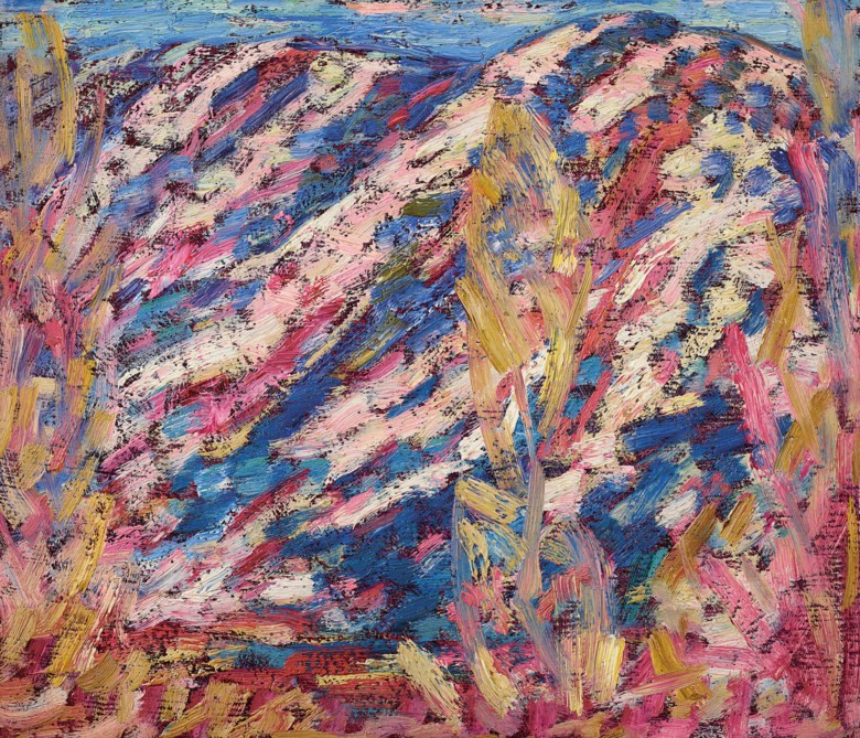 Marsden Hartley (1877-1943), Landscape No. 21, 1908. 12 x 14  in (30.5 x 35.6  cm). Estimate $120,000-180,000. Offered in American Art on 22 May 2019 at Christie's in New York
