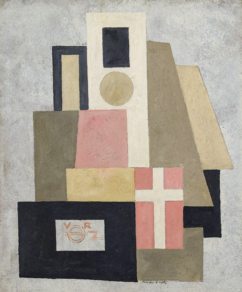 Marsden Hartley (1877-1943), Abstraction, 1916-17. 24 x 20  in (61 x 50.8  cm). Estimate $1,200,000-1,800,000. Offered in American Art on 22 May 2019 at Christie's in New York