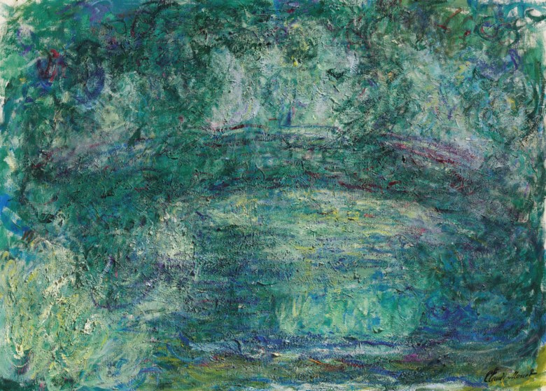 Claude Monet (1840-1926), Le pont japonais, painted in Giverny, circa 1918-1924. 28¾ x 39½  in (73 x 100.3  cm). Estimate $12,000,000-18,000,000. Offered in Impressionist and Modern Art Evening Sale on 13 May 2019 at Christie's in New York
