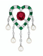 THE DUPONT RUBY  AN EXQUISITE