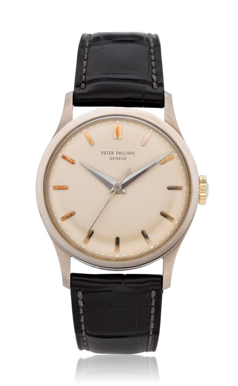 Patek Philippe, 18k Calatrava, ref. 570. Estimate $20,000-30,000                            (£15,852 - GBP 23,778). Offered in  Christie's Watches Online The Keystone Collection, 30 July to 13 August 2019, online