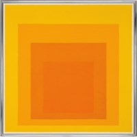 Study for Homage to the Square: With Saffron