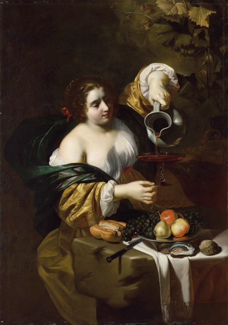 Nicolas Régnier (Maubeuge c. 1588-1667), An Allegory of Autumn. Dimensions 54 x 38  in (137.2 x 96.5  cm). Estimate $100,000-150,000. Offered in Old Master Paintings and Sculpture on 29 October 2019 at Christie's in New York