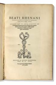 RHENANUS, Beat Bild dit Beatus