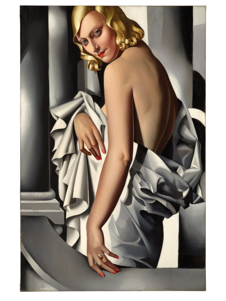 Tamara de Lempicka (1898-1980), Portrait de Marjorie Ferry, painted in 1932. Oil on canvas. 39⅜ x 25⅝  in (100 x 65  cm). Estimate £8,000,000-12,000,000. Offered in Impressionist and Modern Art Evening Sale on 5 February 2020 at Christie's in London