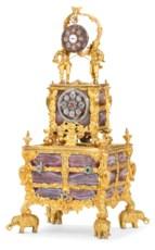 A GEORGE III GOLD AND AGATE MO