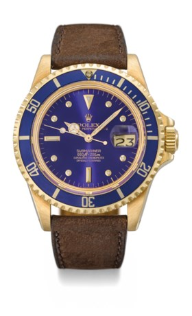 Rolex A very attractive 18K gold automatic wristwatch with s